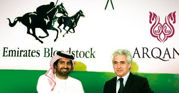 Faisal Al Rahmani (Emirates Bloodstock) now represents ARQANA in the gulf countries