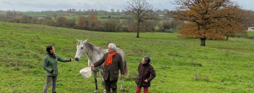 François-Xavier and Anne Doulce Lefeuvre, breeders of Épatante